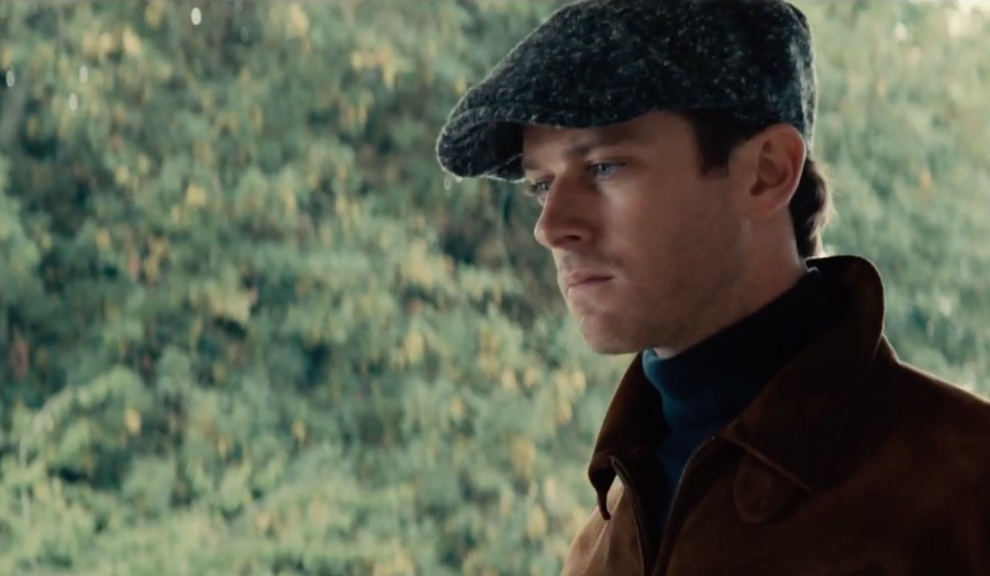 Armie Hammer in the man from uncle