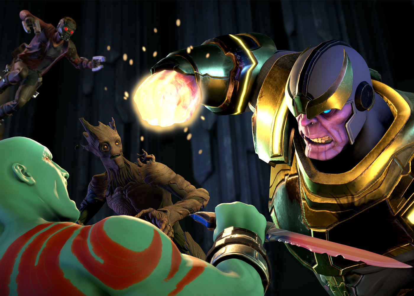 Guardians of the Galaxy, Thanos, Telltale