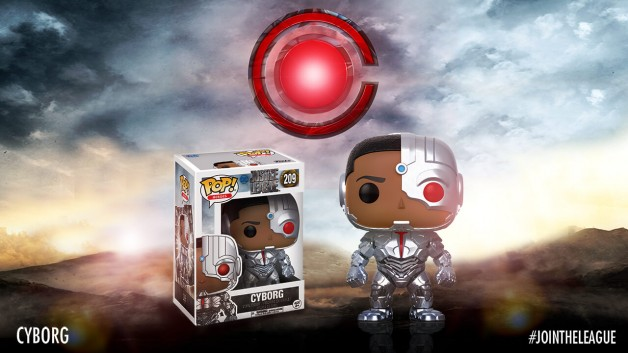 Justice League Funko Pop cyborg
