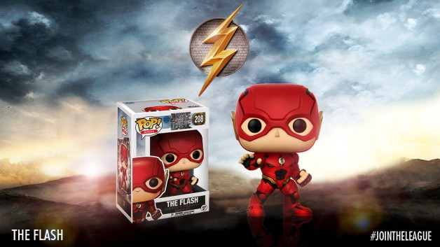 Justice League Funko Pop flash