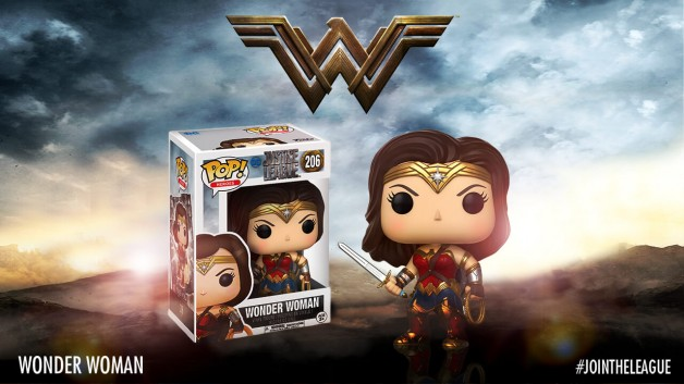 Justice League Funko Pop wonder woman