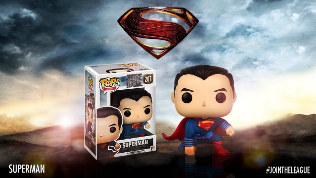 Justice League Funko pop superman