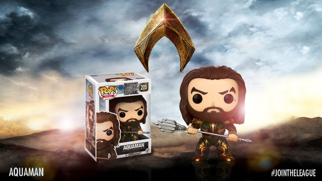 Justice league Funko pop aquaman