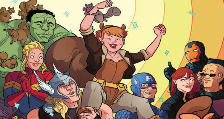 Marvel's New Warriors TV Show Coming To Freeform, Stars Squirrel Girl