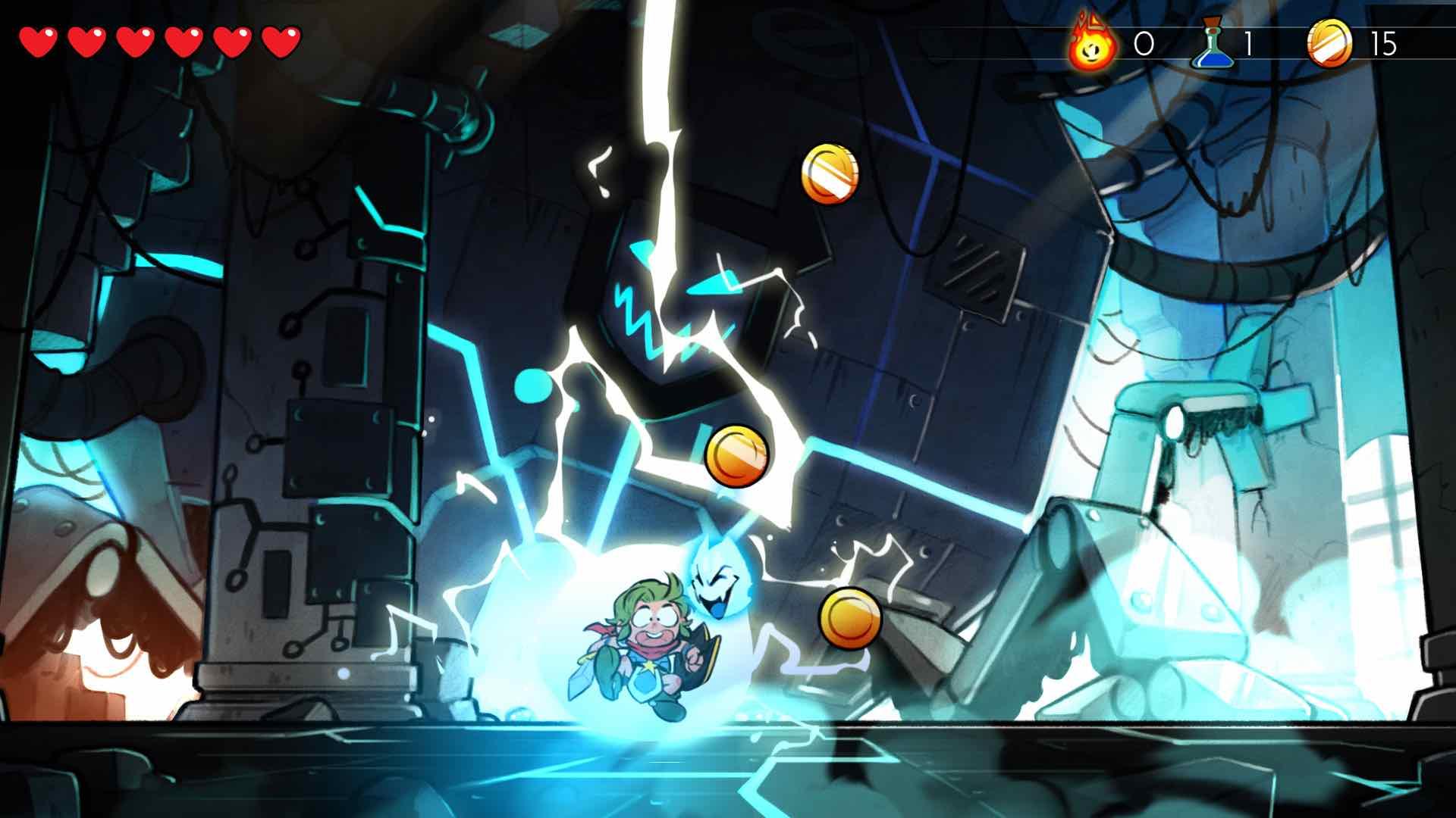 Wonder Boy Screenshot 2