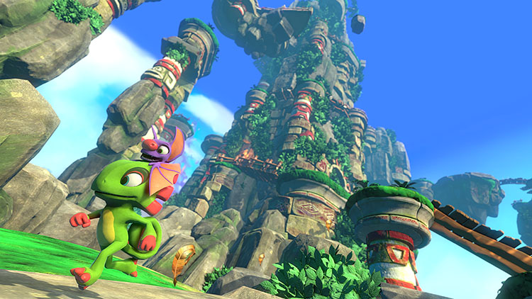 Yooka-Laylee Brings the Best and Worst of Yesteryear