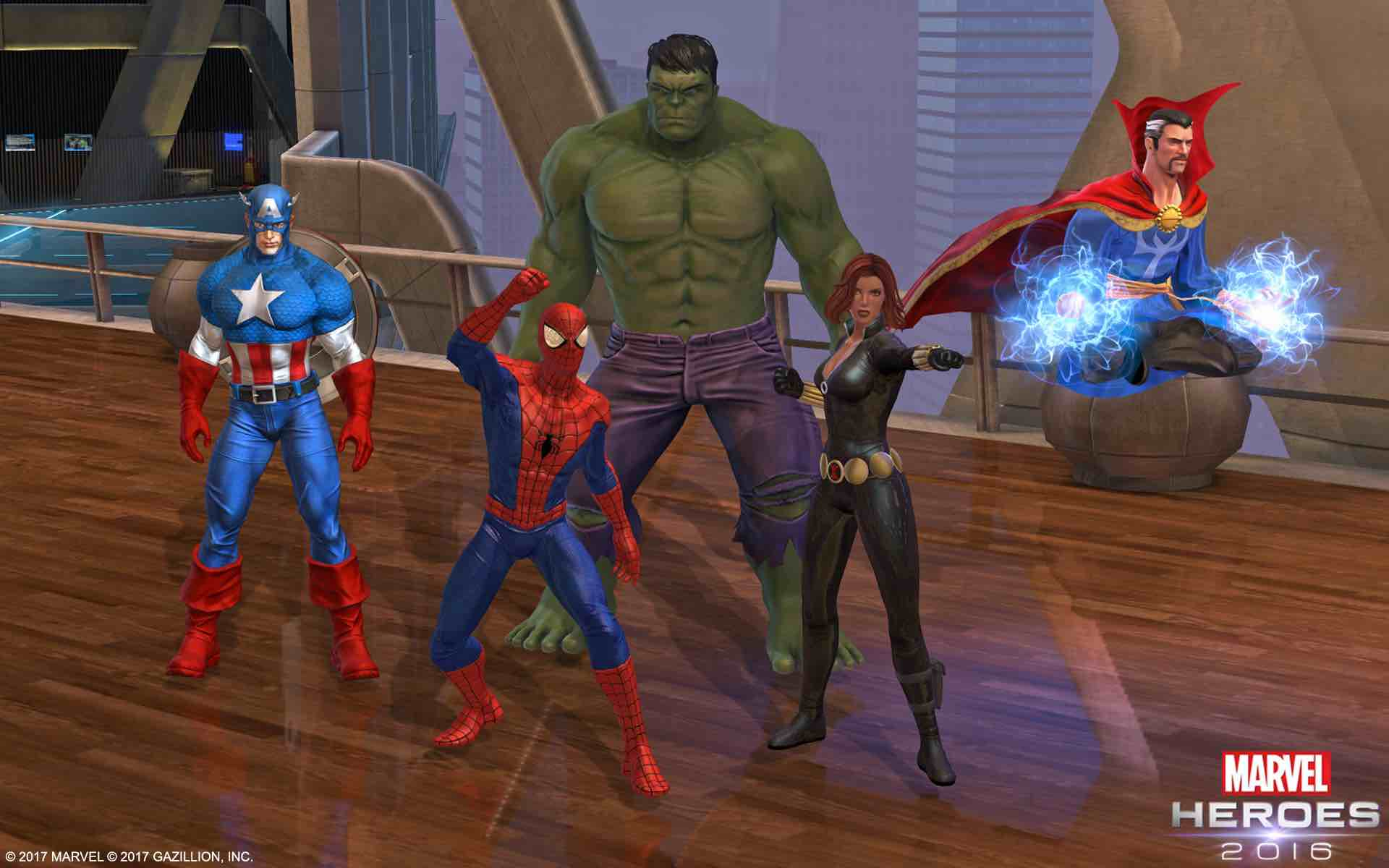 Marvel Heroes screen 2
