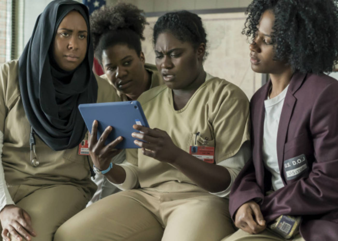 "Orange is the New Black Series 5 held hostage by ""The Dark Lord"""