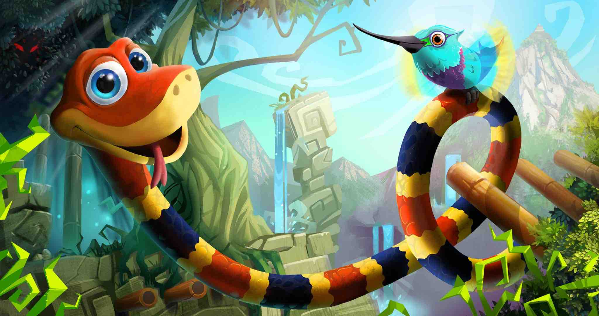 Snake Pass Slithers Its Way Into the N64-Shaped Hole in Your Heart