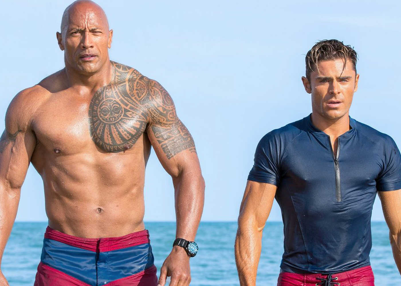 The Rock Fires Back Against Baywatch Critics on Twitter