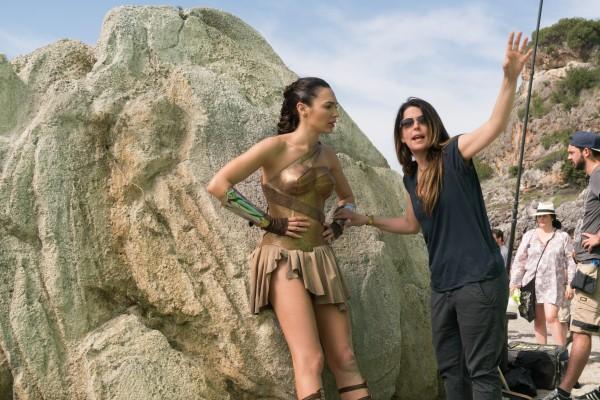 Patty Jenkins and Gal Gadot Wonder Woman