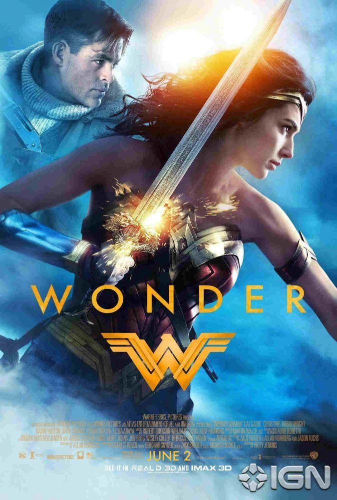Wonder Woman, Wonder Woman poster