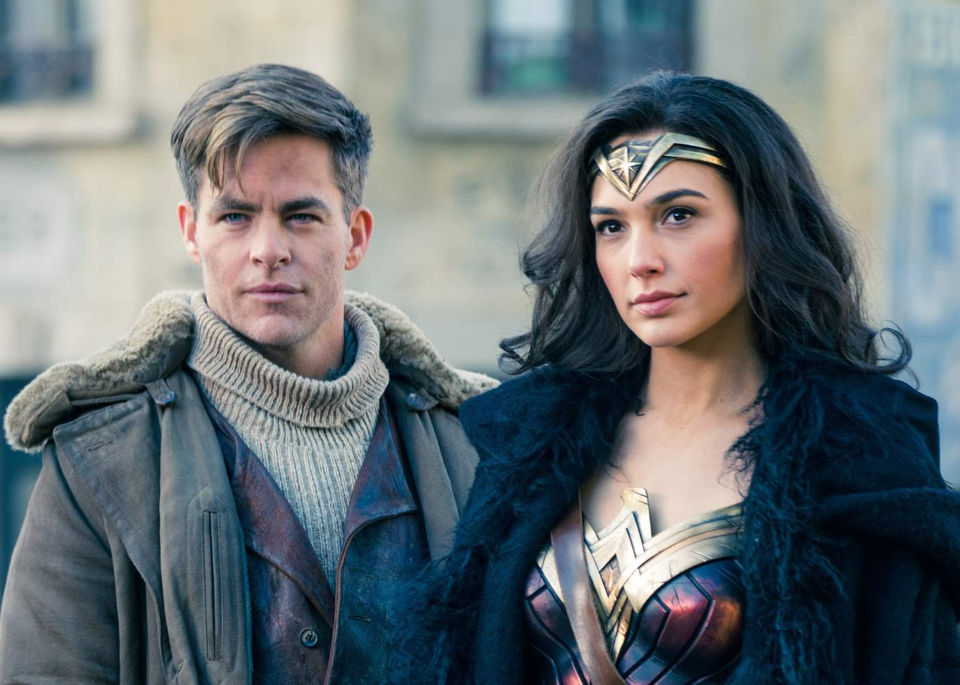 Diana Protects Steve Trevor in First Wonder Woman Clip