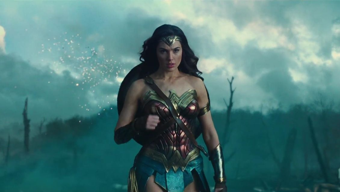 Wonder Woman in No Man's Land