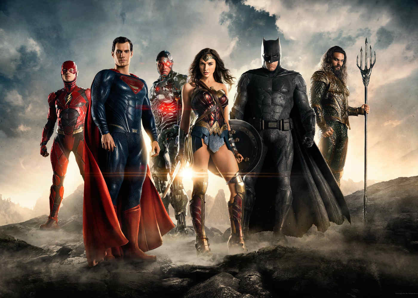 Warner Bros. Show Justice League Costumes at Vegas Licensing Expo