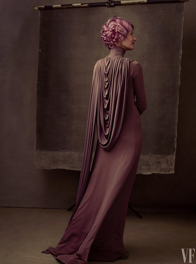 "Star Wars: The Last Jedi Cast Newcomer Laura Dern ""Vice Admiral Holdo"""