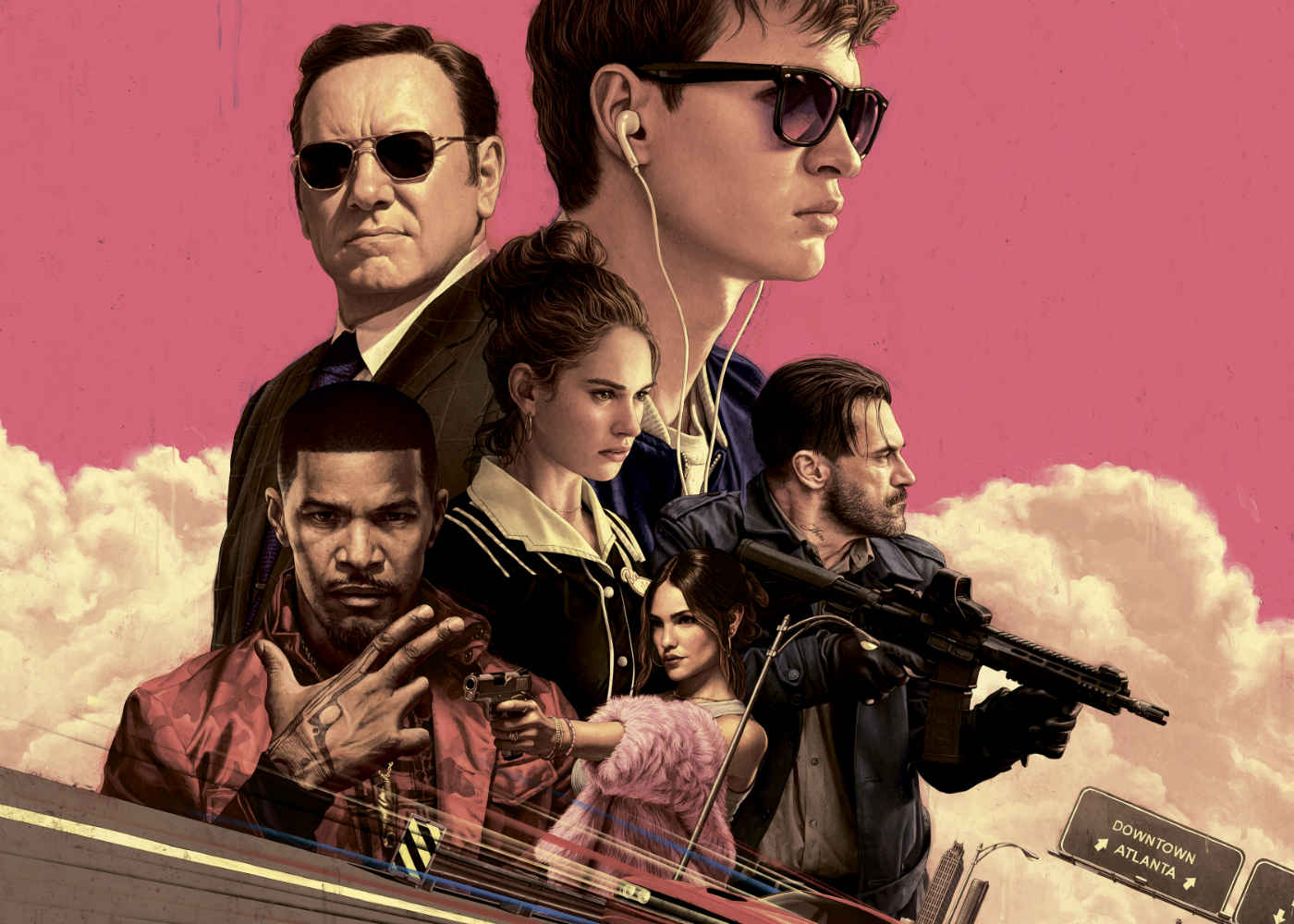 Review: Baby Driver is Playlists, Pistols, and Peak Edgar Wright