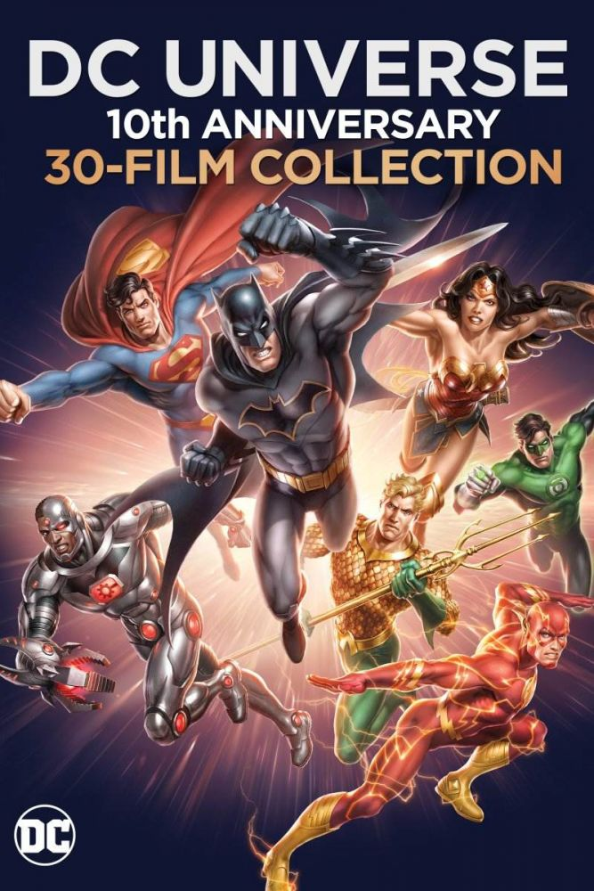 DC Universe animated film collection