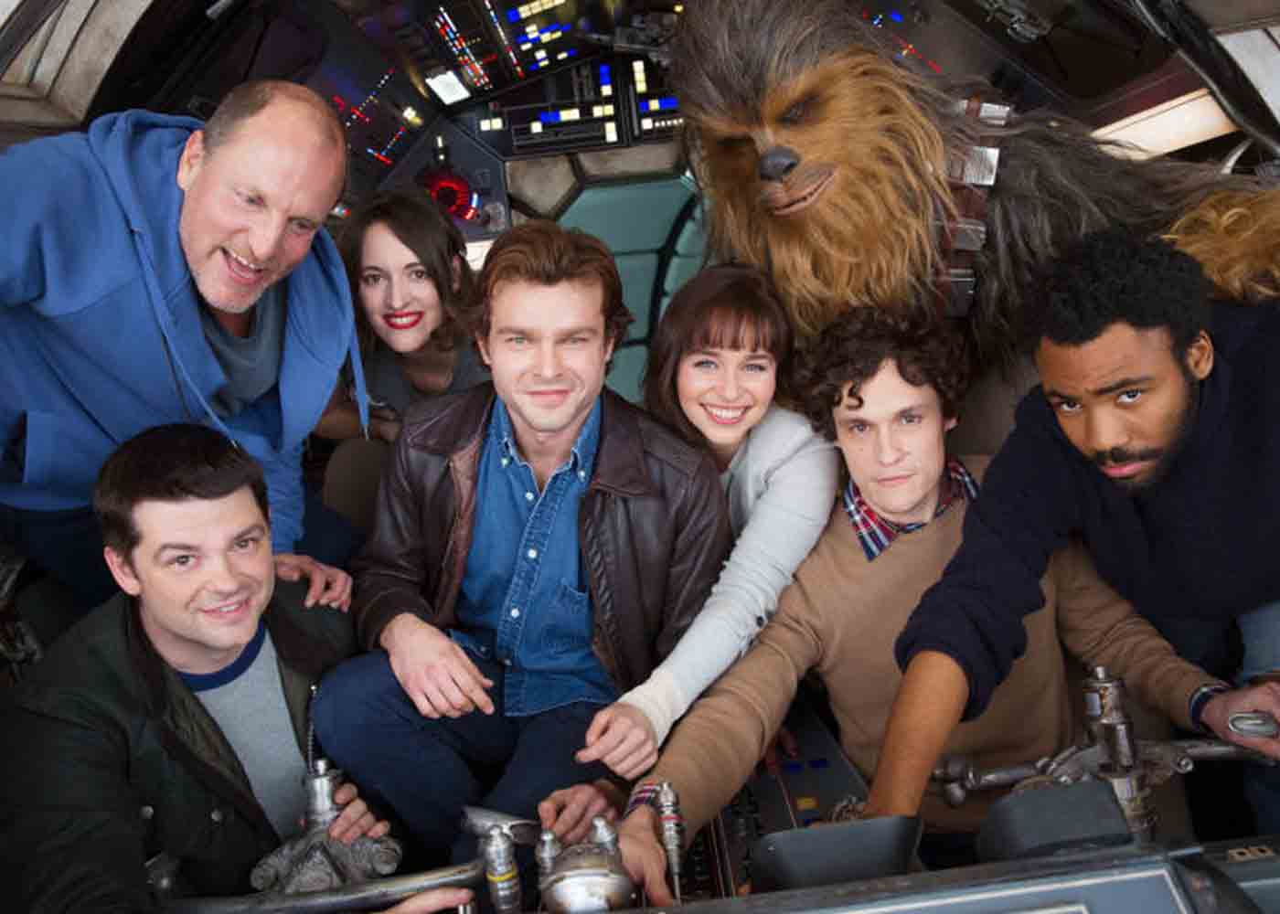 Star Wars Han Solo Film Set Photos Feature Woody Harrelson's Character