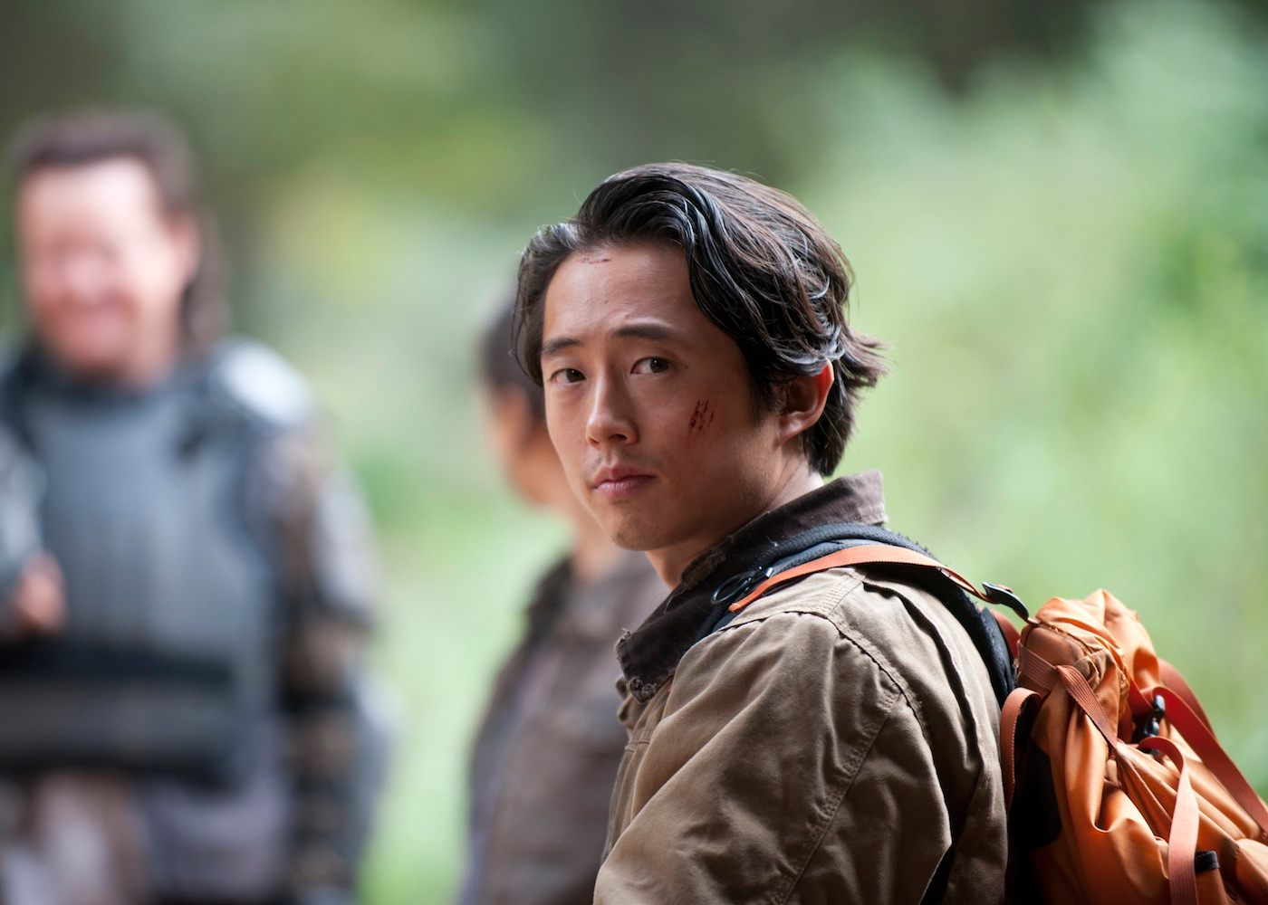 Steven yeun the walking dead glenn