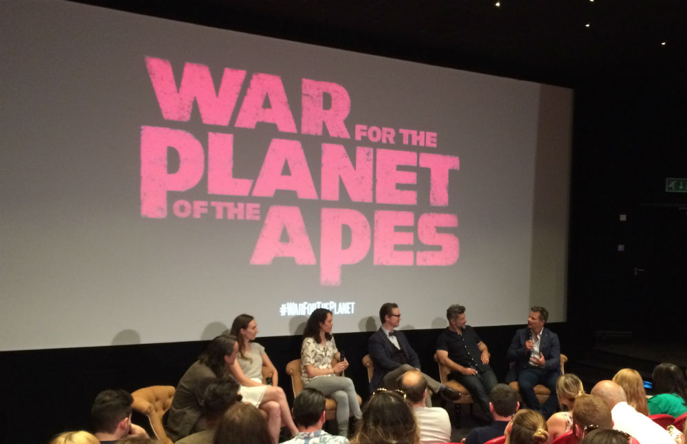 War for the Planet of the Apes Q+A