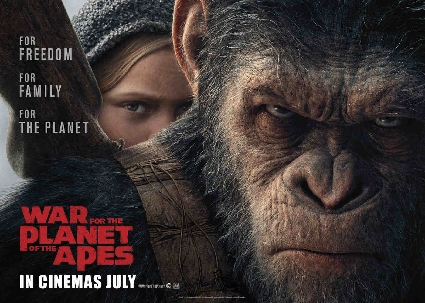 War for the Planet of the Apes Delivers New Trailer