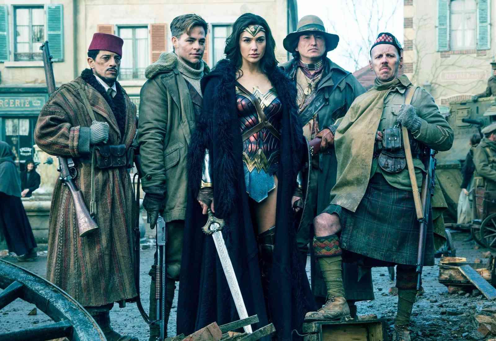 Wonder Woman group photo