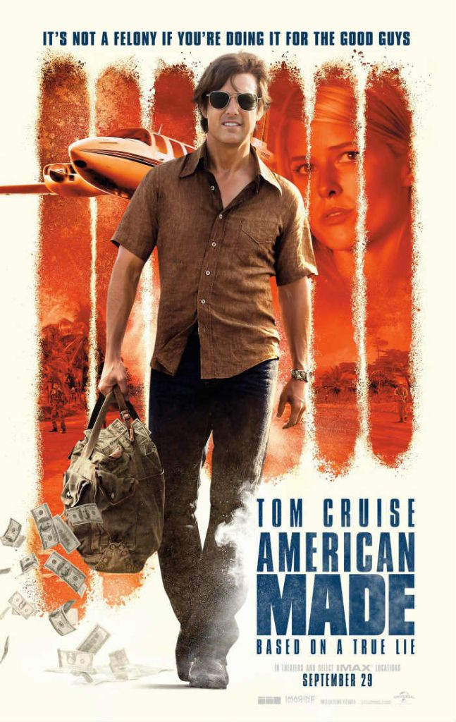 American made, Tom Cruise