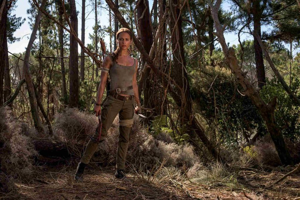 Tomb Raider Alicia Vikander Lara Croft