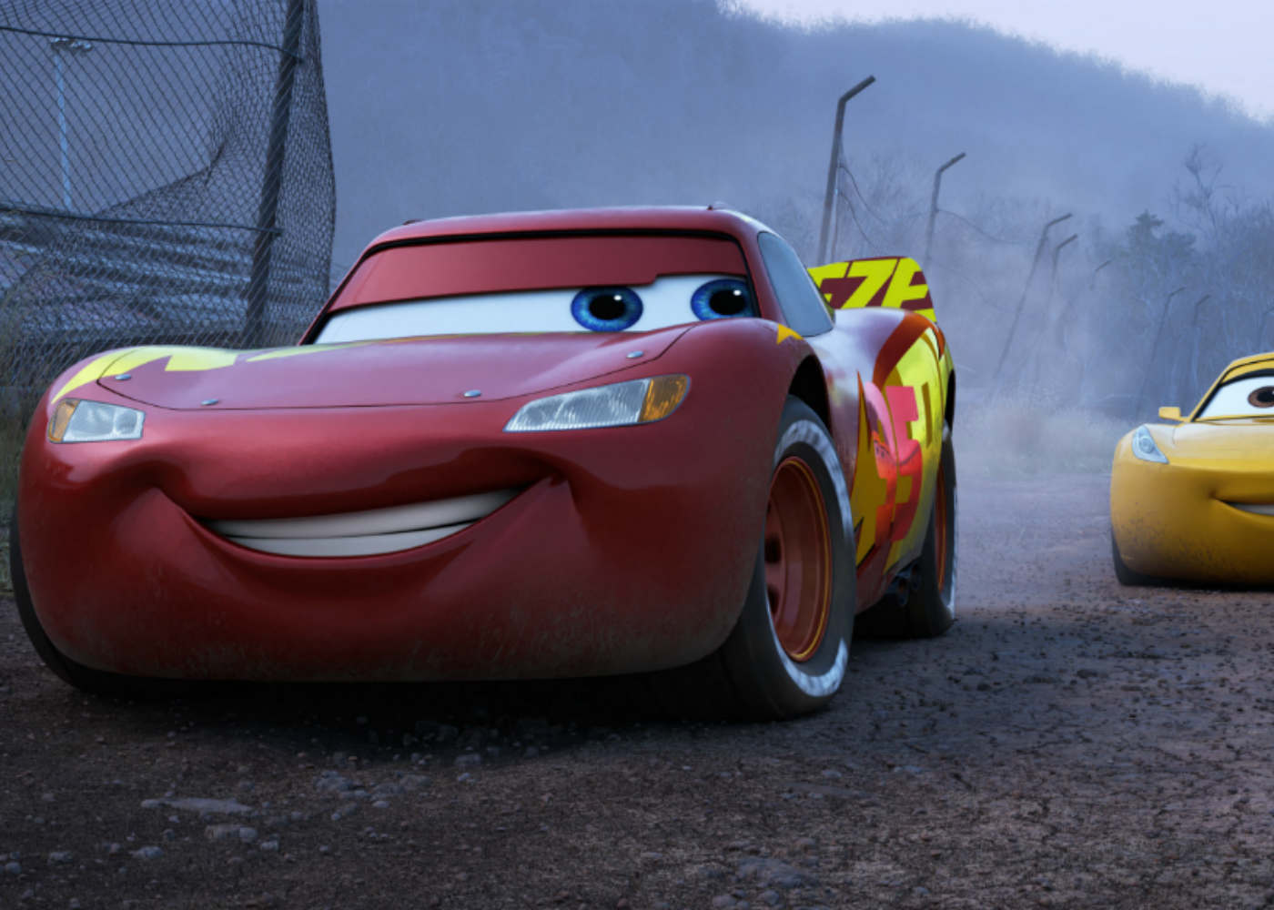 Review: Cars 3 Travels a Rocky Road to the Middle Lane