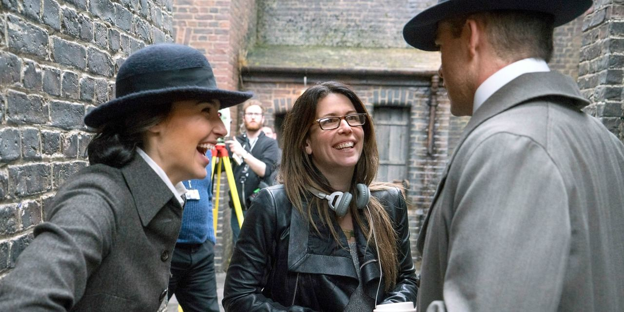 Gal Gadot, Patty Jenkins, and Chris Pine
