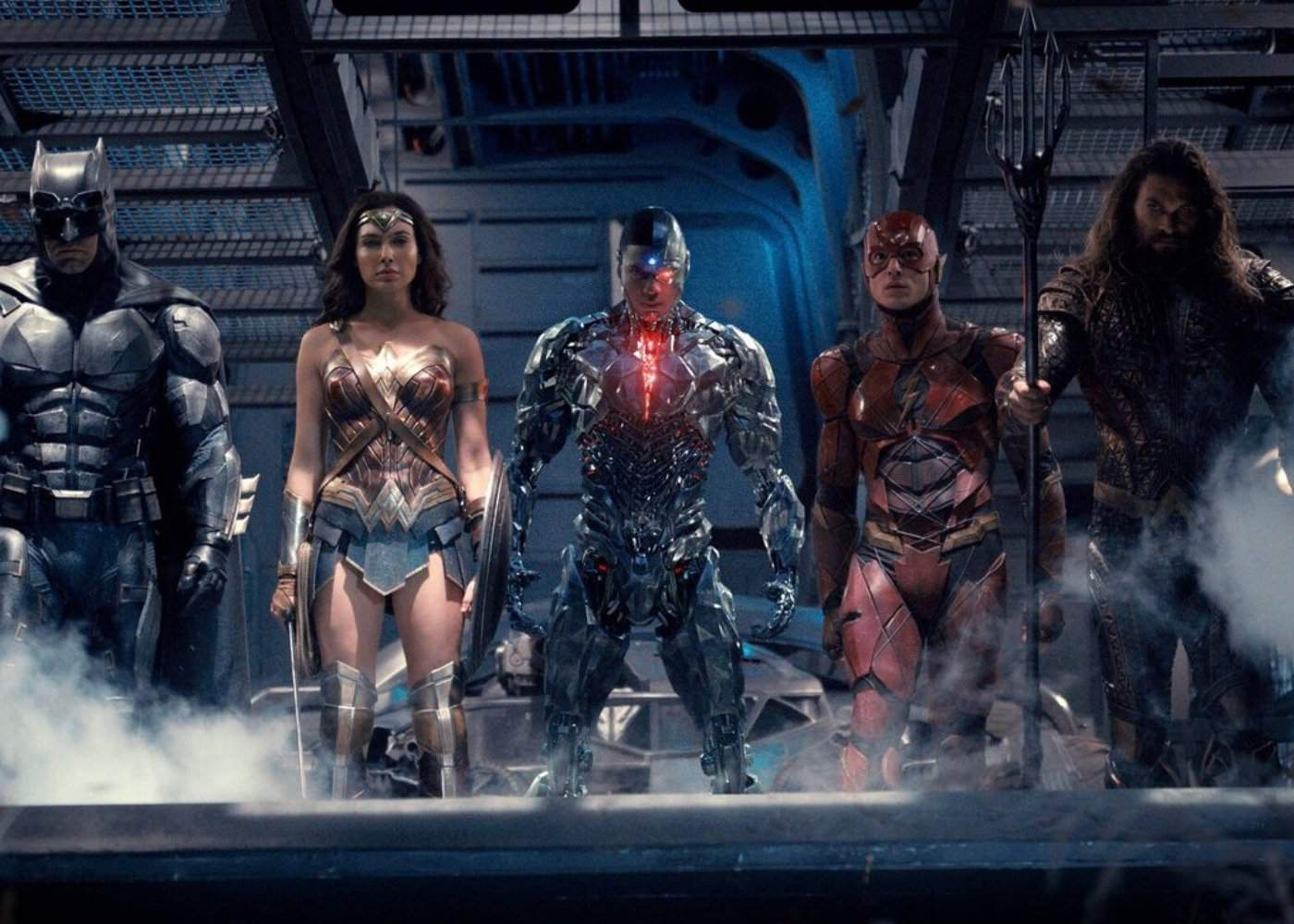 New Look at Batman's Flying Fox in Justice League