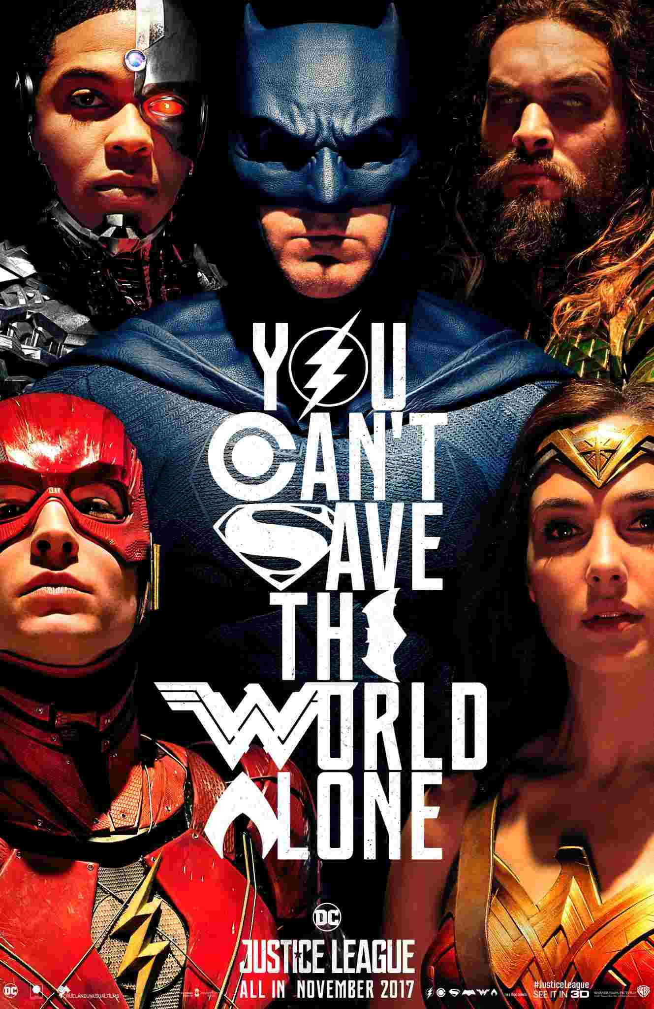 Justice League SDCC poster 17