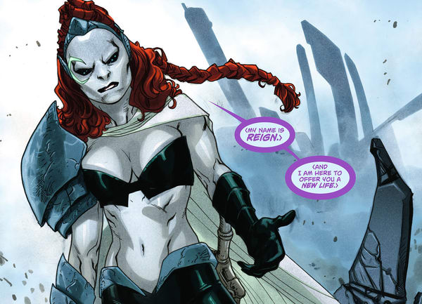 Reign in New 52