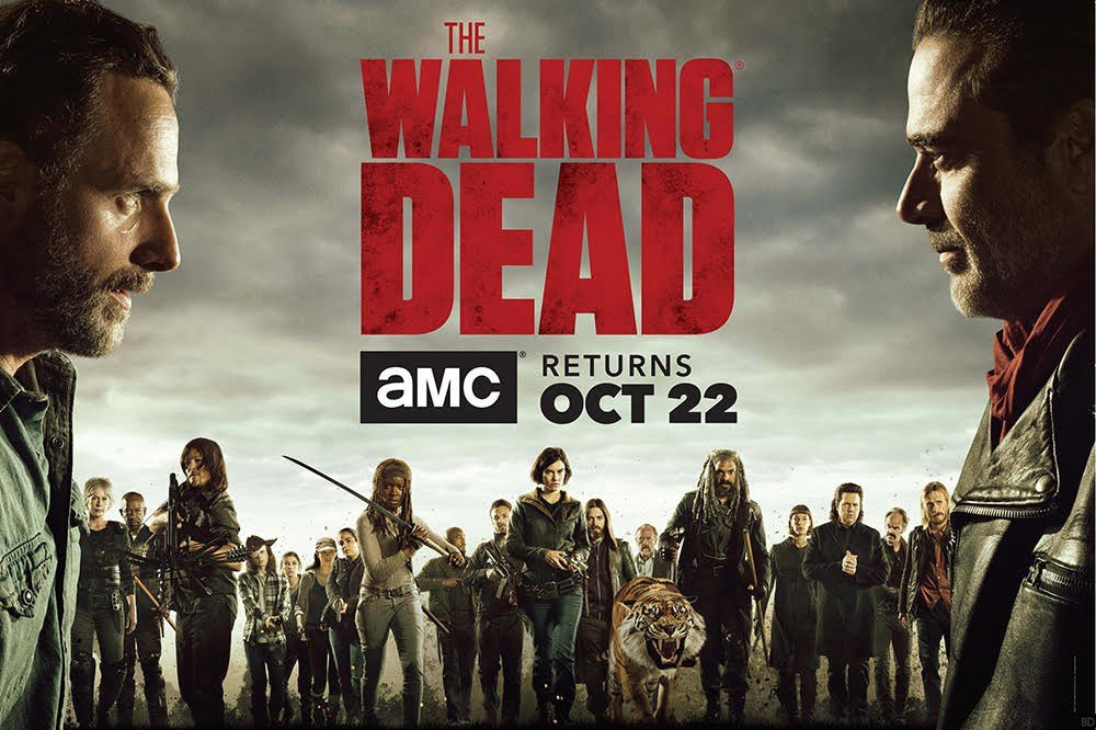 The Walking Dead SDCC key art
