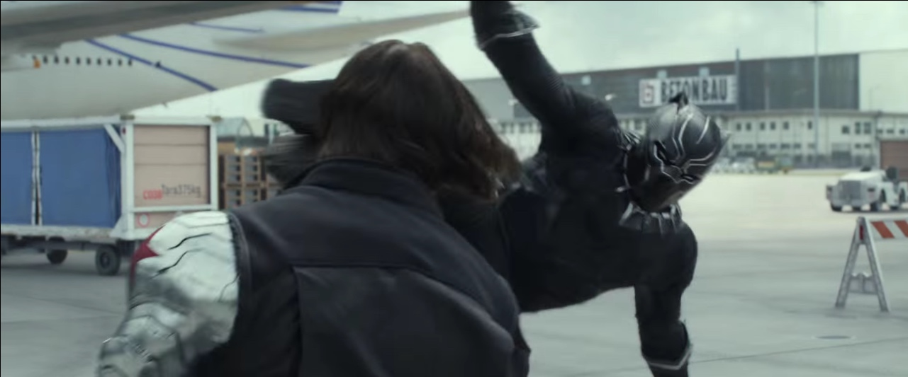 Winter Soldier vs Black Panther