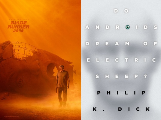reading list, blade runner 2049, do androids dream of electric sheep, philip k. dick, harrison ford, ryan gosling