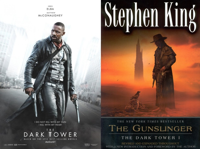 reading list, dark tower, gunslinger, stephen king, idris elba, matthew mcconaughey