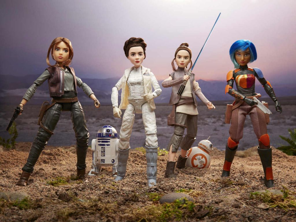 star wars, forces of destiny, heroines