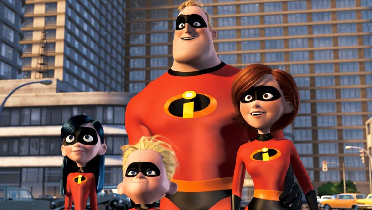 New Summer-Themed Poster for The Incredibles II
