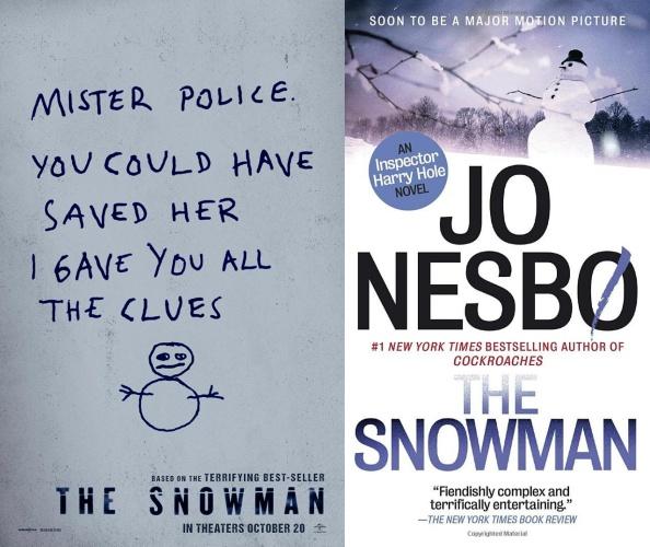 snowman, harry hole, michael fassbender, jo nesbo, jk simmons