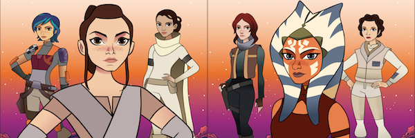 star wars forces of destiny, heroines