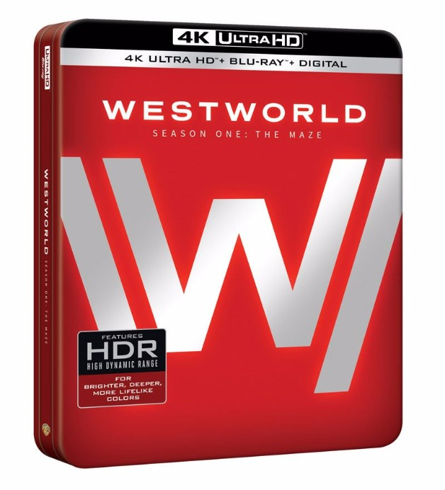 Box art for the Westworld 4K Ultra HD release