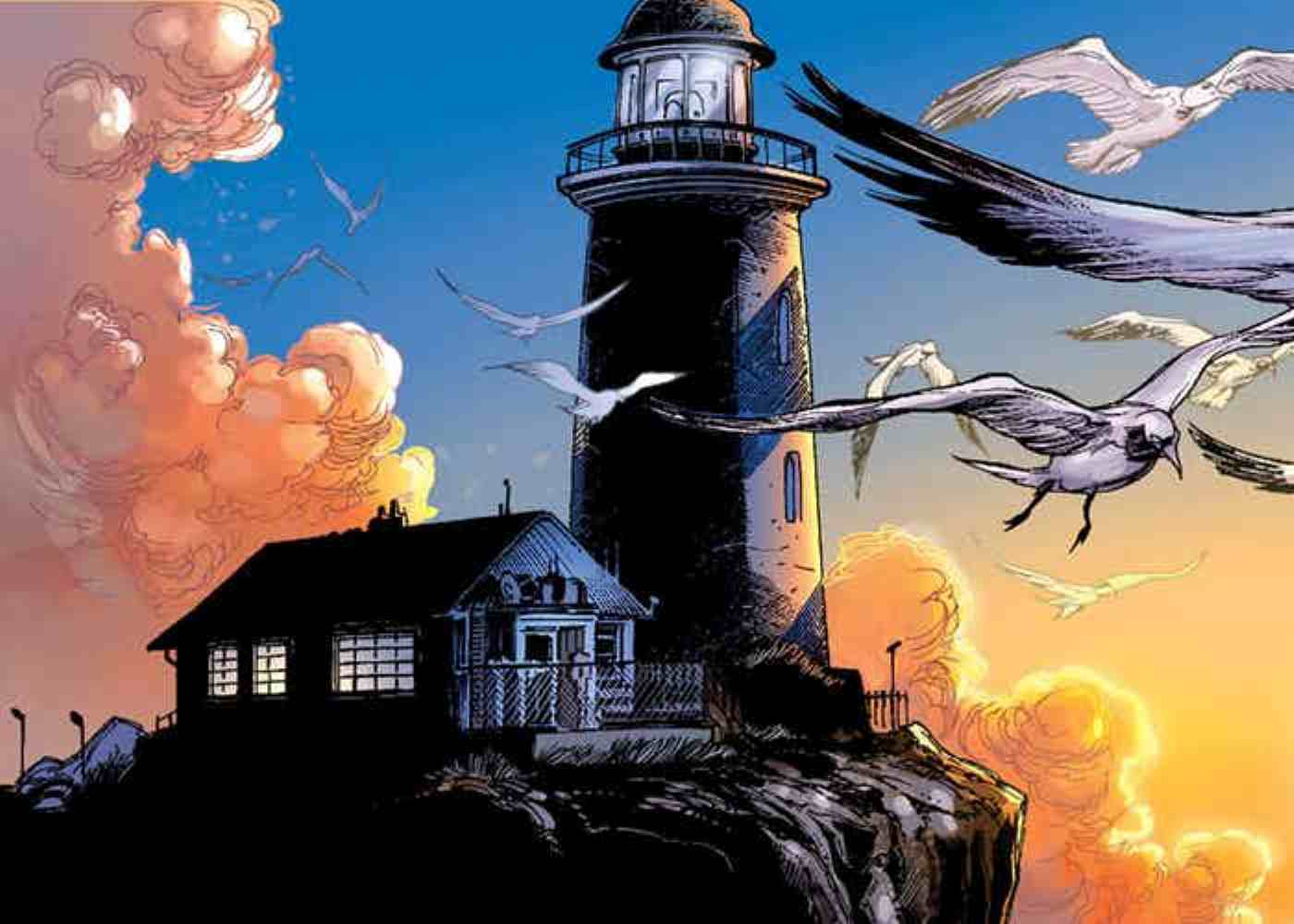 James Wan Gives a Preview of Aquaman's Lighthouse
