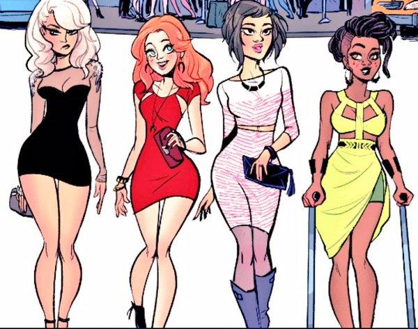 Batgirl and friends