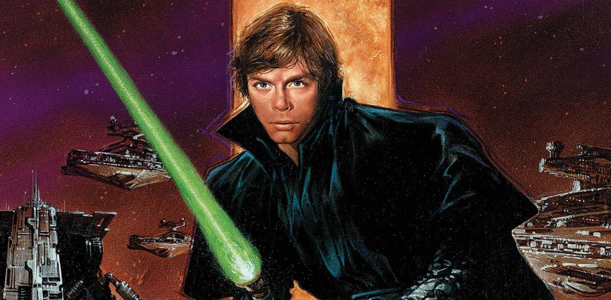 luke skywalker, dark empire, star wars, the last jedi