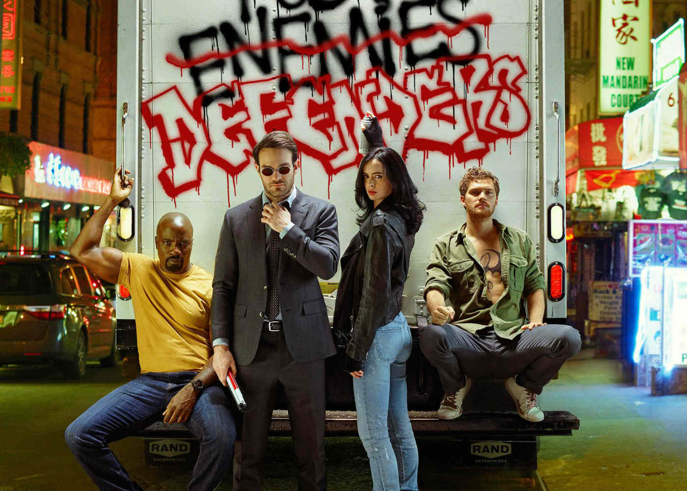 Marvel's Defenders is an Aesthetically Pleasing Painting