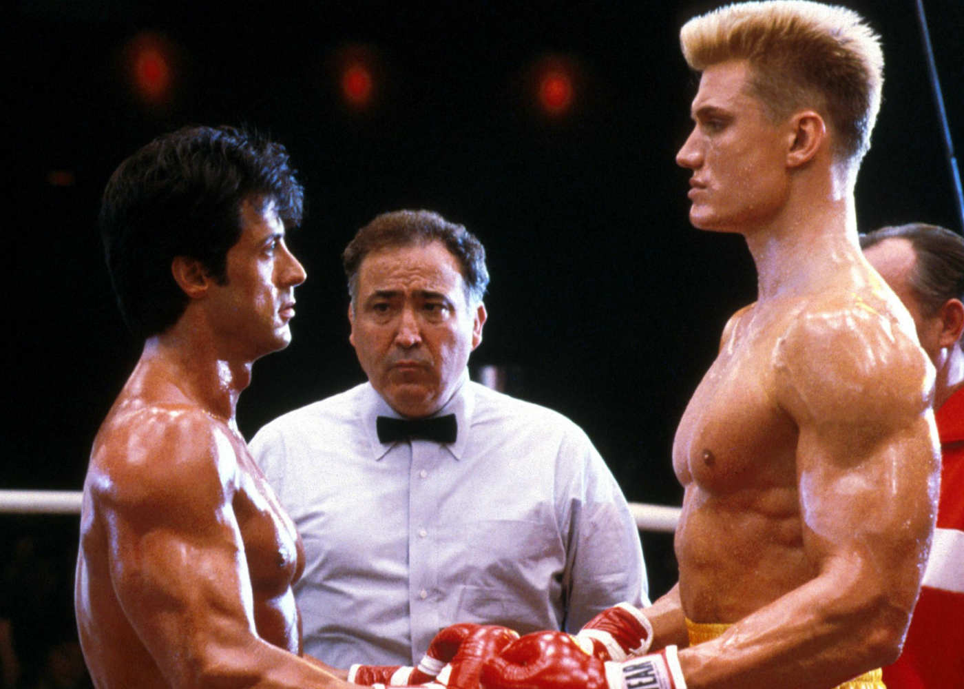 Dolph Lundgren Gets His Training Montage on for Creed 2