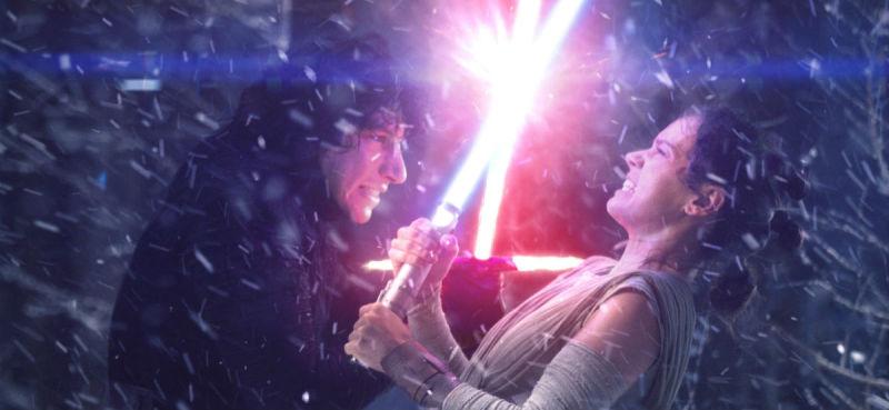 kylo ren, rey, star wars, the force awakens, the last jedi