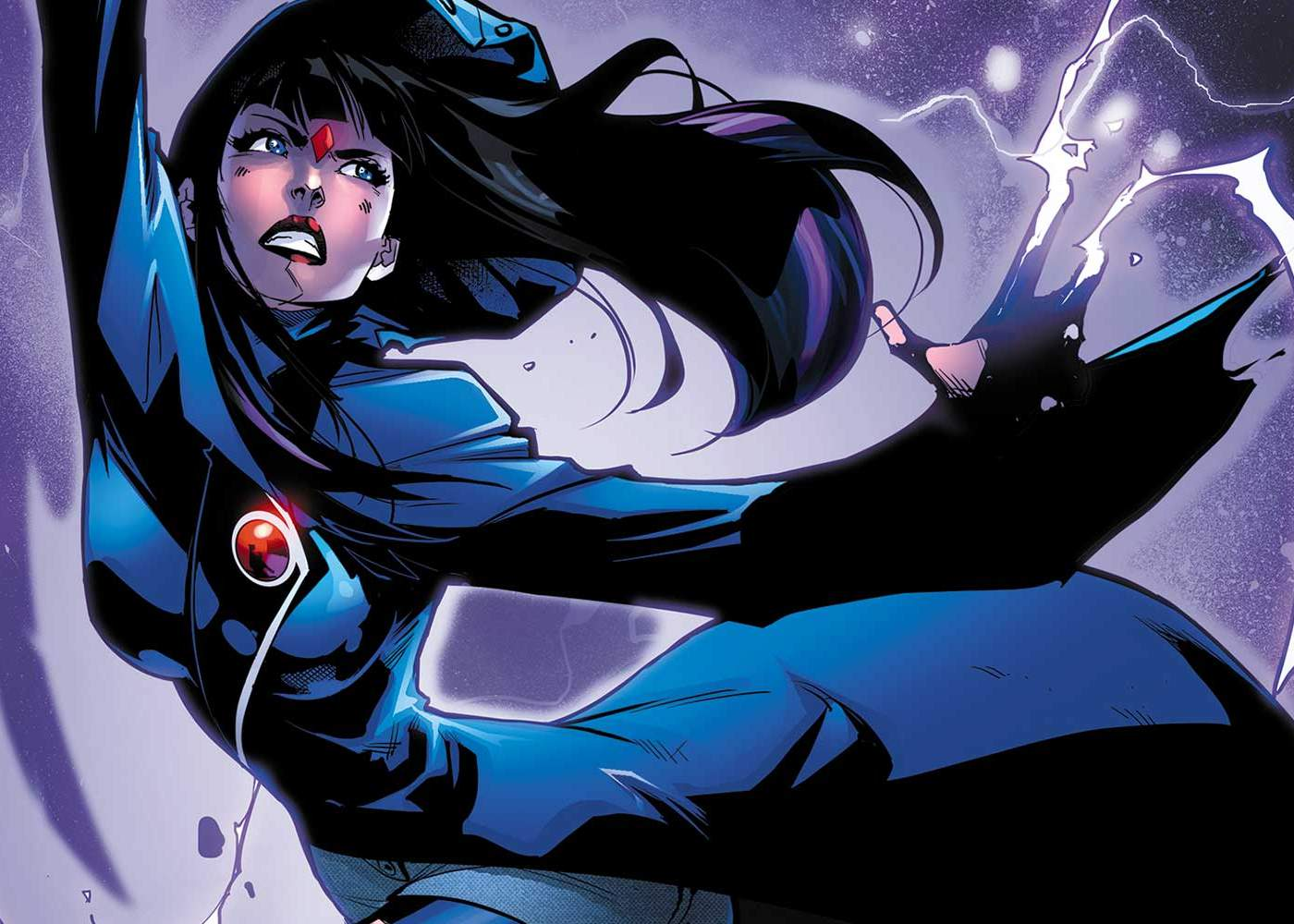 Live-Action Titans Series Casts Teagan Croft as Raven